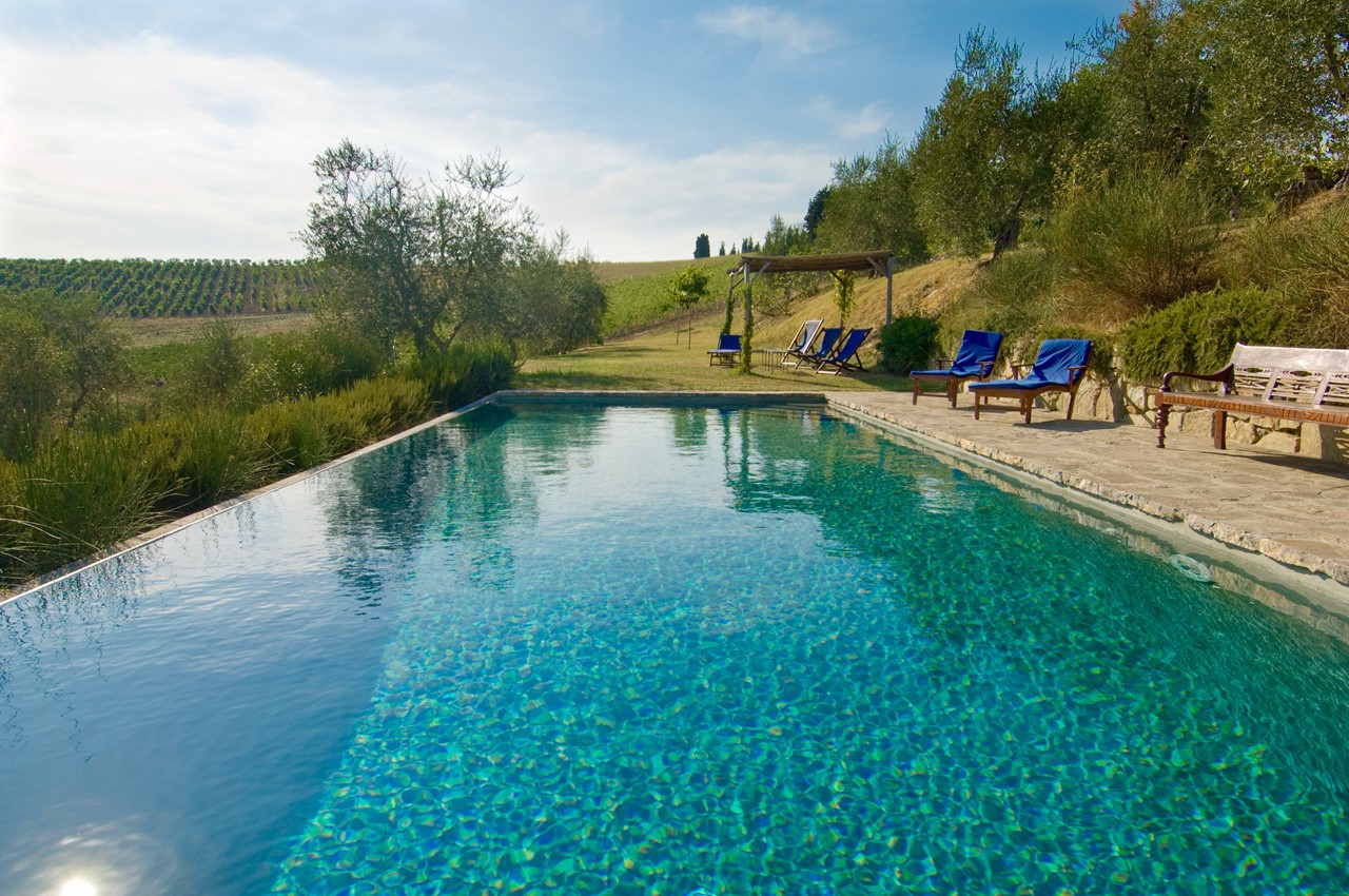 Private pool in Villa in Wonderful surroundings in Tuscany