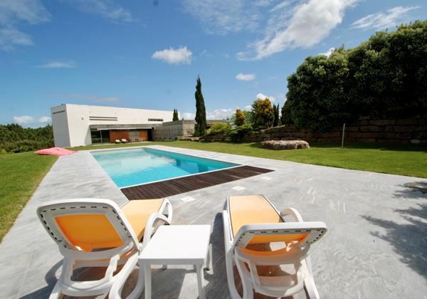 Luxurious villa for holiday rentals in Portugal