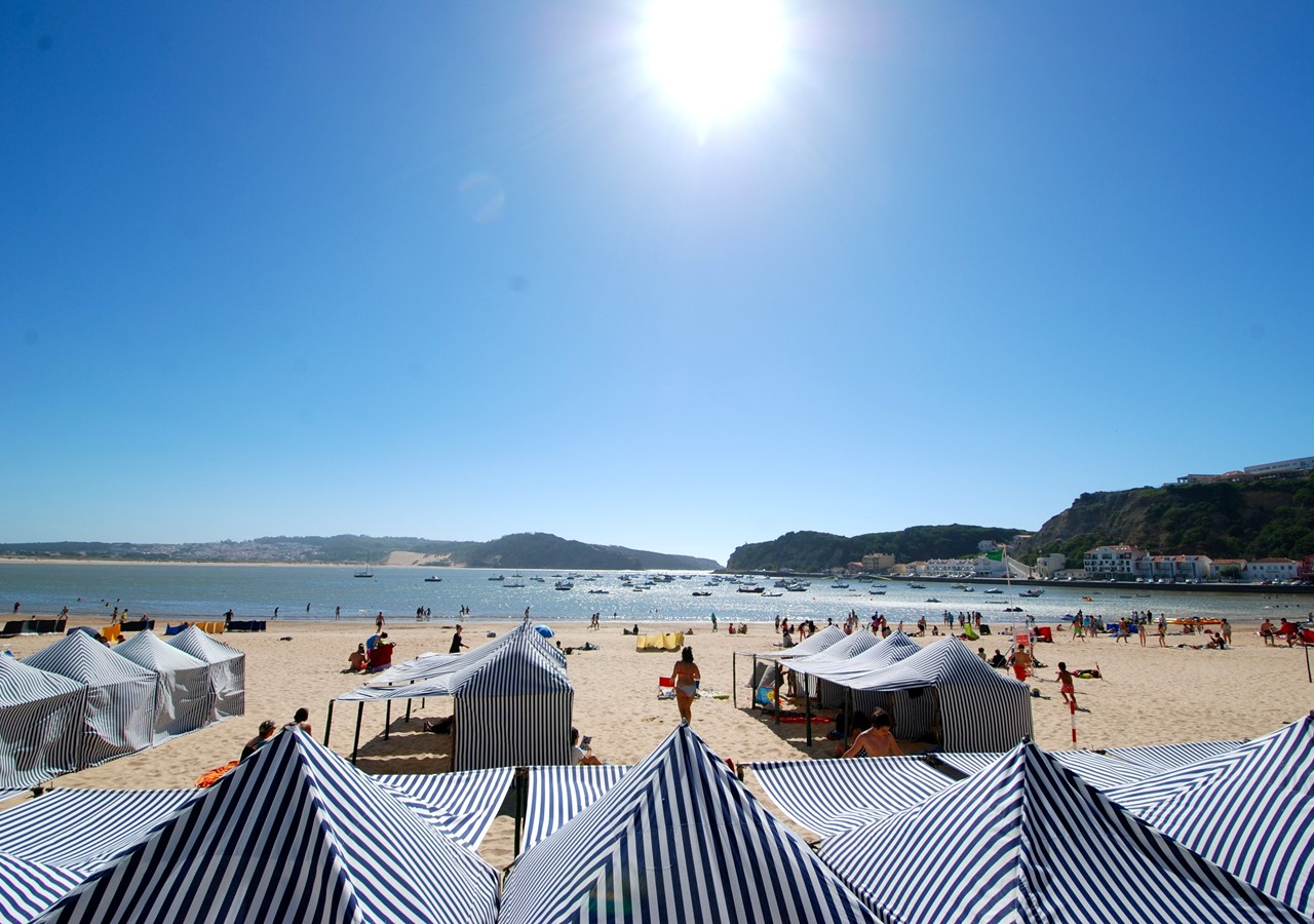São Martinho beach cabans
