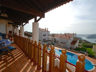 Delight - sea view 4 bedroom duplex in Gilma Facho Resort, São Martinho do Porto