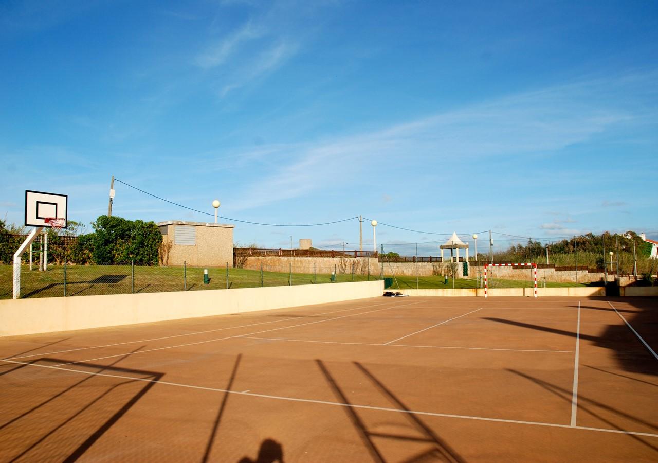 Sports field