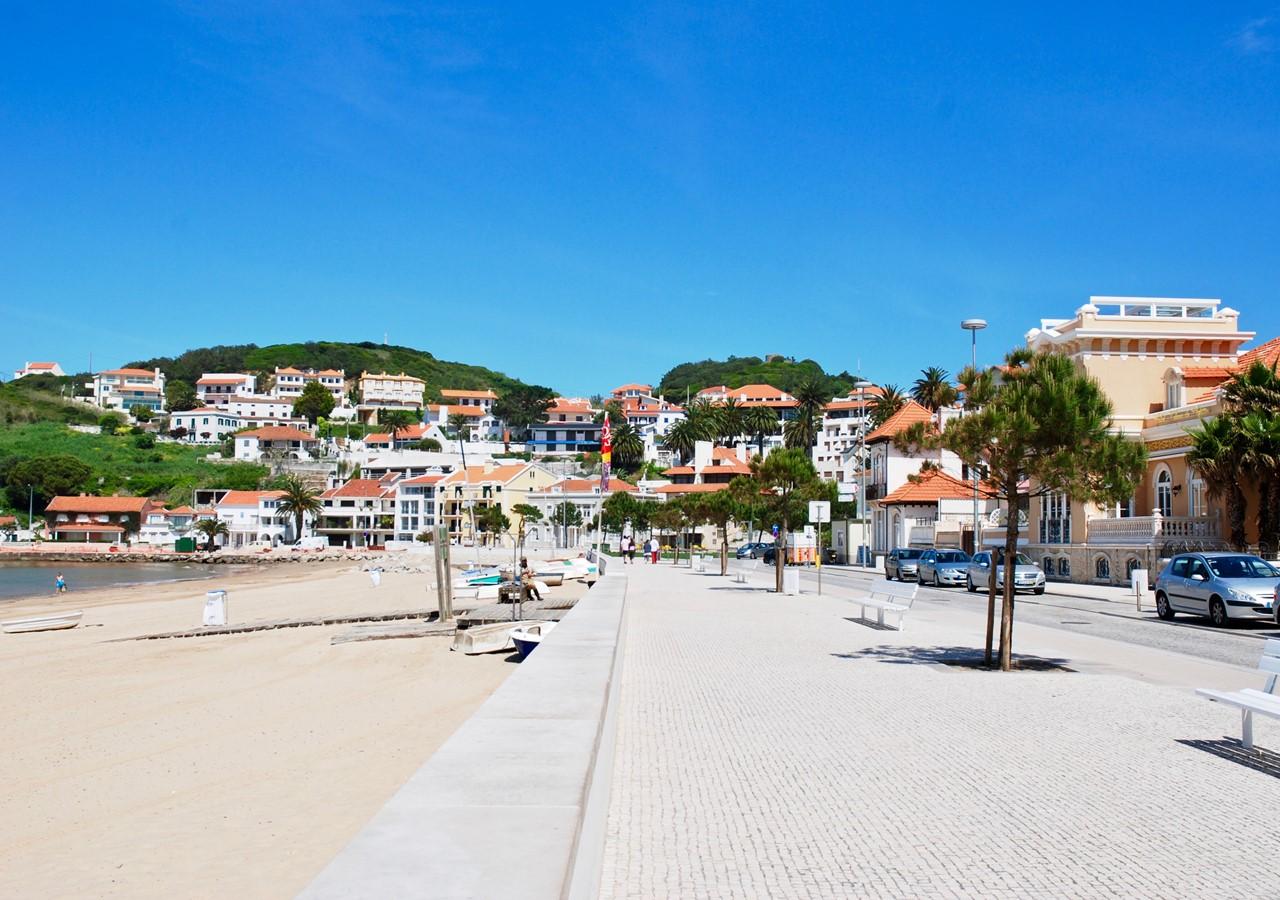 São Martinho do Porto boardwalk