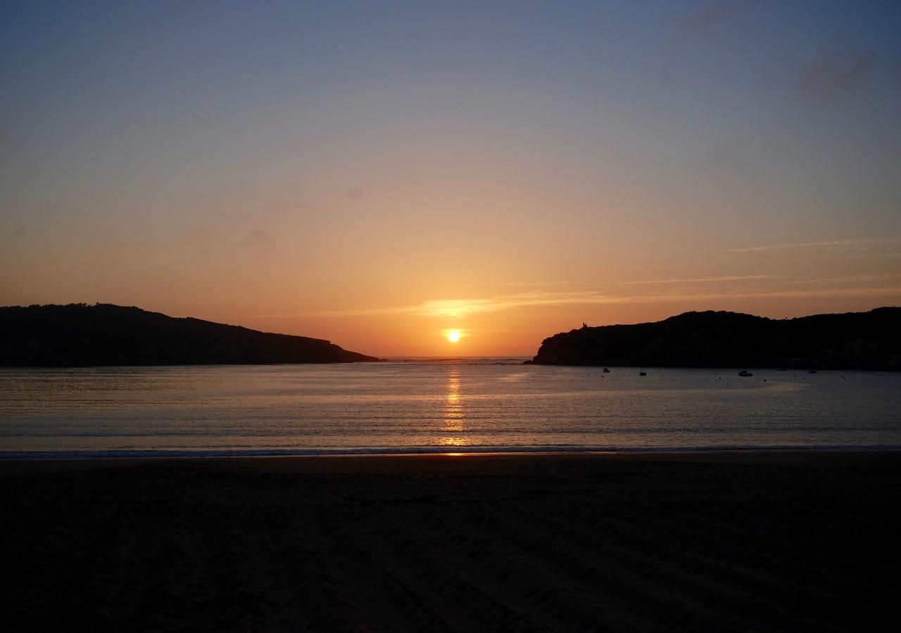 Sao Martinho Do Porto Sunset