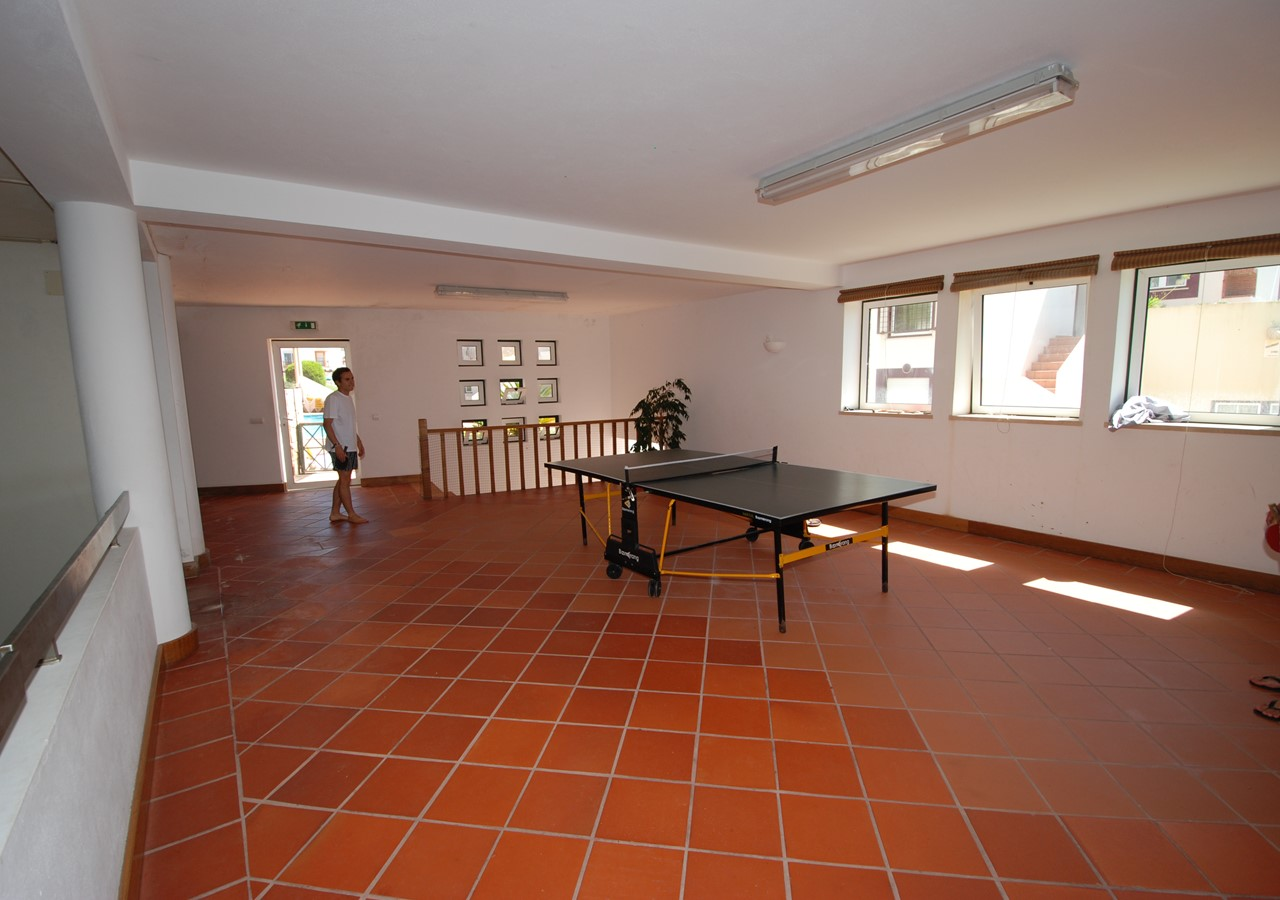 Games room in complex