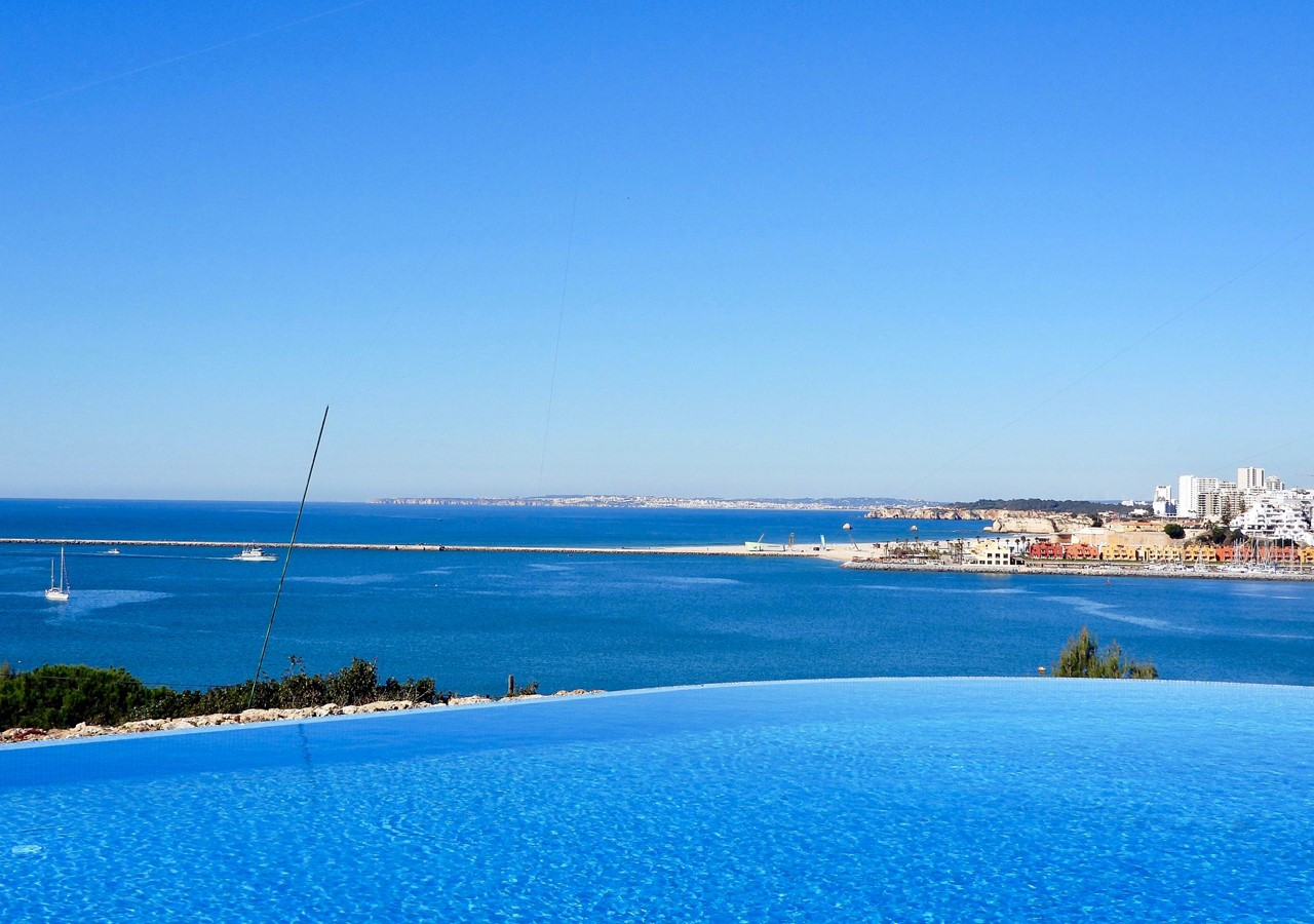 View from Infinity Pool in Fantastic Holiday Villa