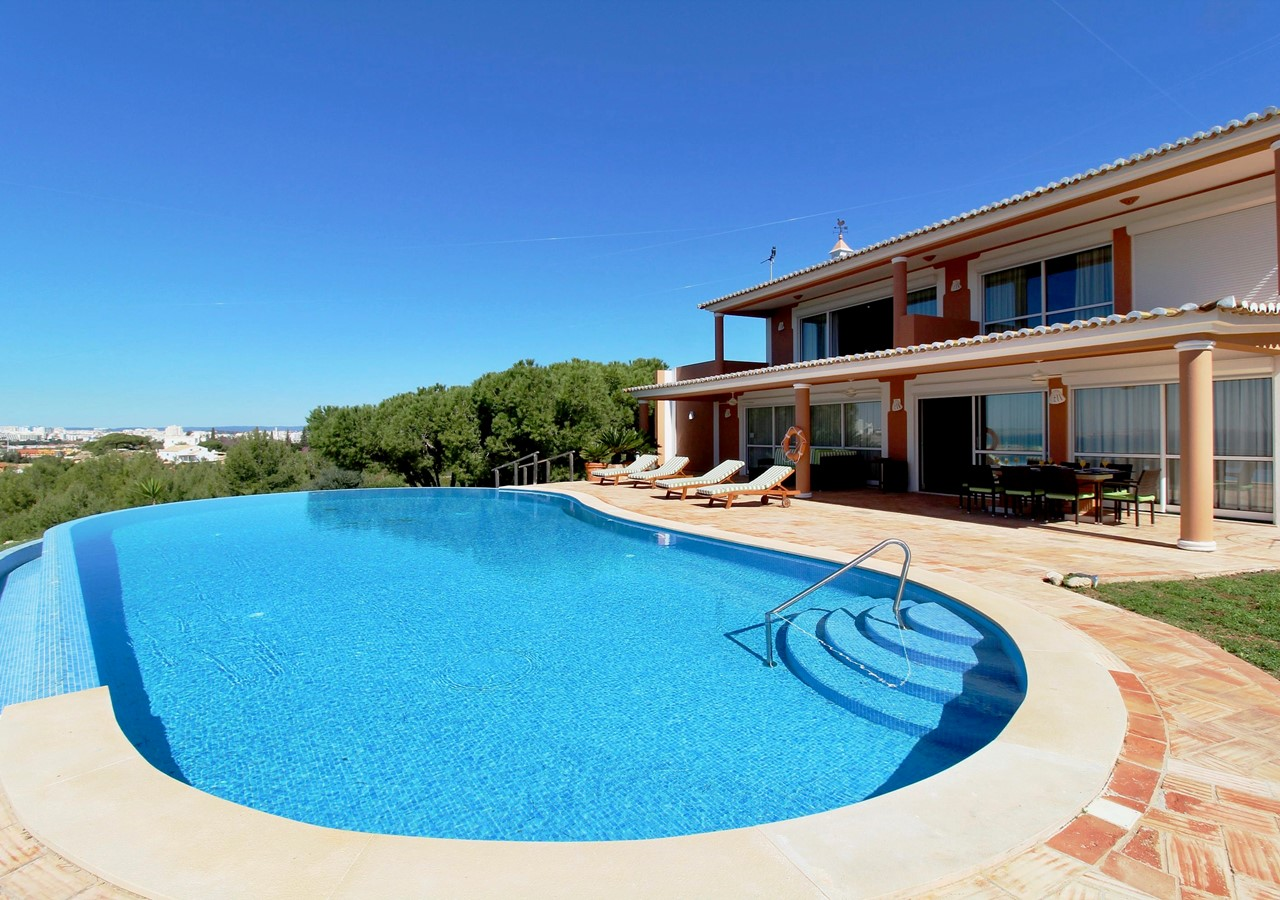 large pool area in lovely holiday home