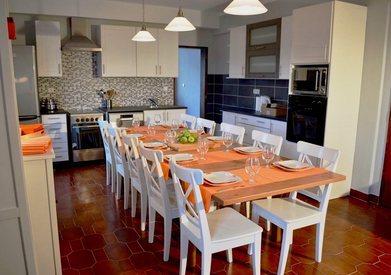 Well Equipped Kitchen Of Holiday Villa In Sao Martinho Do Porto