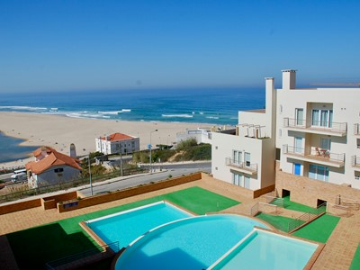 Oyster - Fabulous Foz Do Arelho Penthouse with 3 bedrooms, panoramic views of lagoon and sea