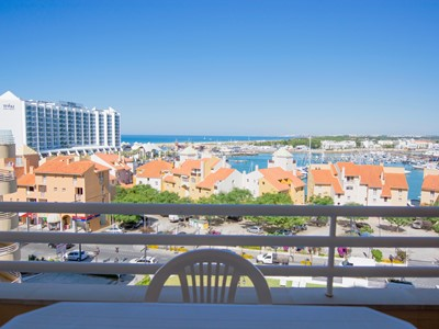 Marina Mar Belo - Magnificent Sea view 2 bedroom Vilamoura apartment with pool