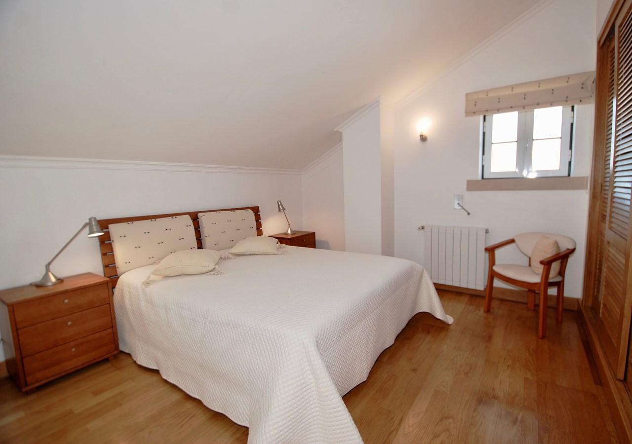 Large bedroom in holiday apartment