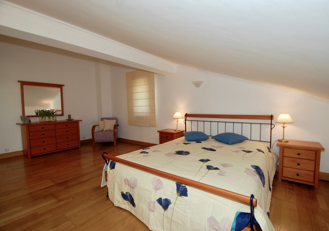 Large bedroom in holiday home