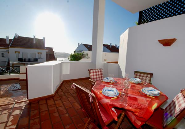 Balcony With Dining Area