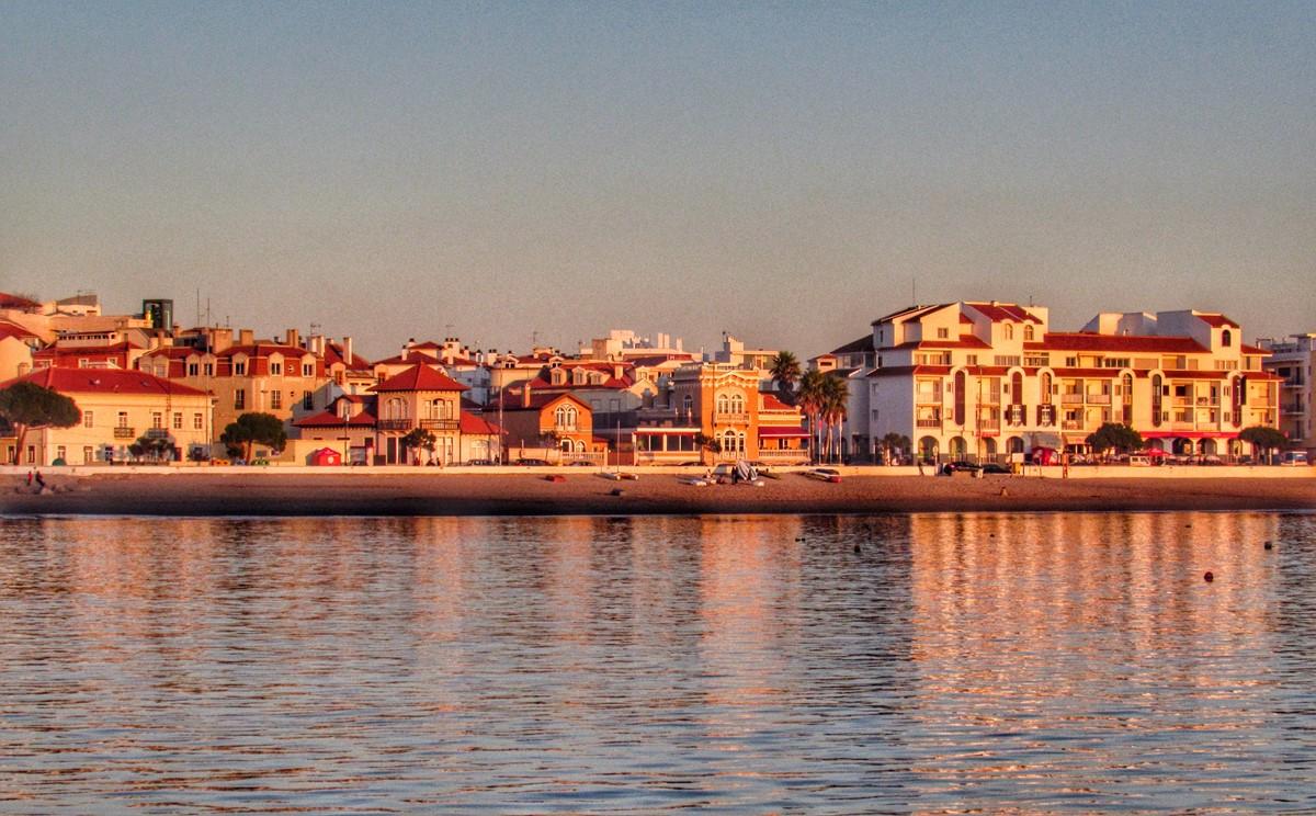 Shops Are Hopping At Sunset In Sao Martinho Do Porto