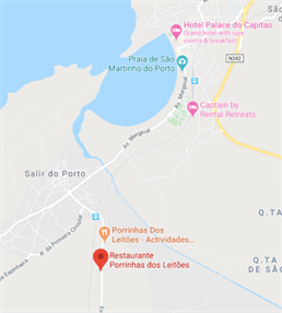 Porrinhas Dos Leitoes Map 1