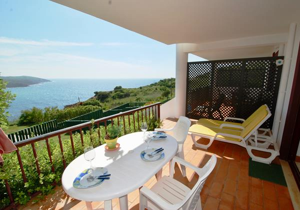 Private Terrace With View Over The Sea