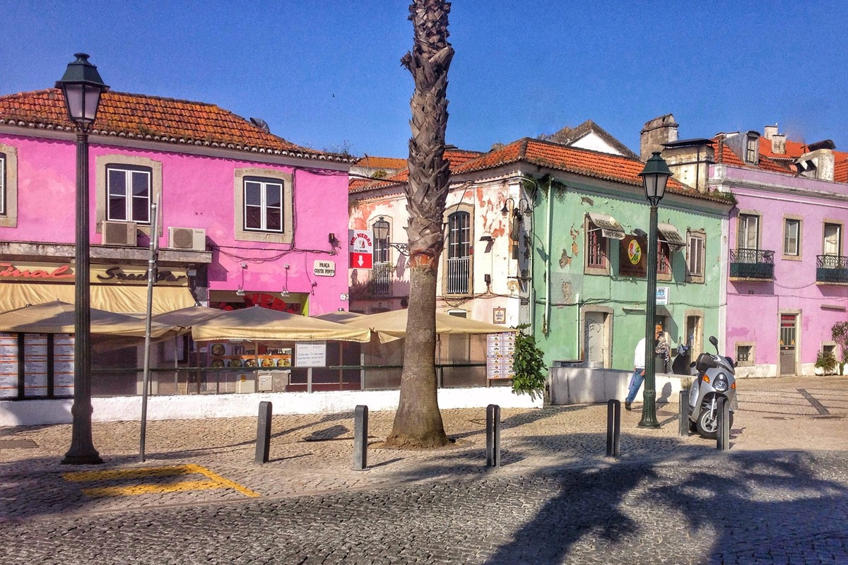 Pretty Squares Just Blocks From The Beach Make Shopping In Cascais A Breeze