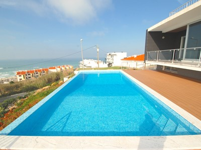 Majestic - Exclusive Villa with Private Pool overlooking the Ocean at Foz Do Arelho