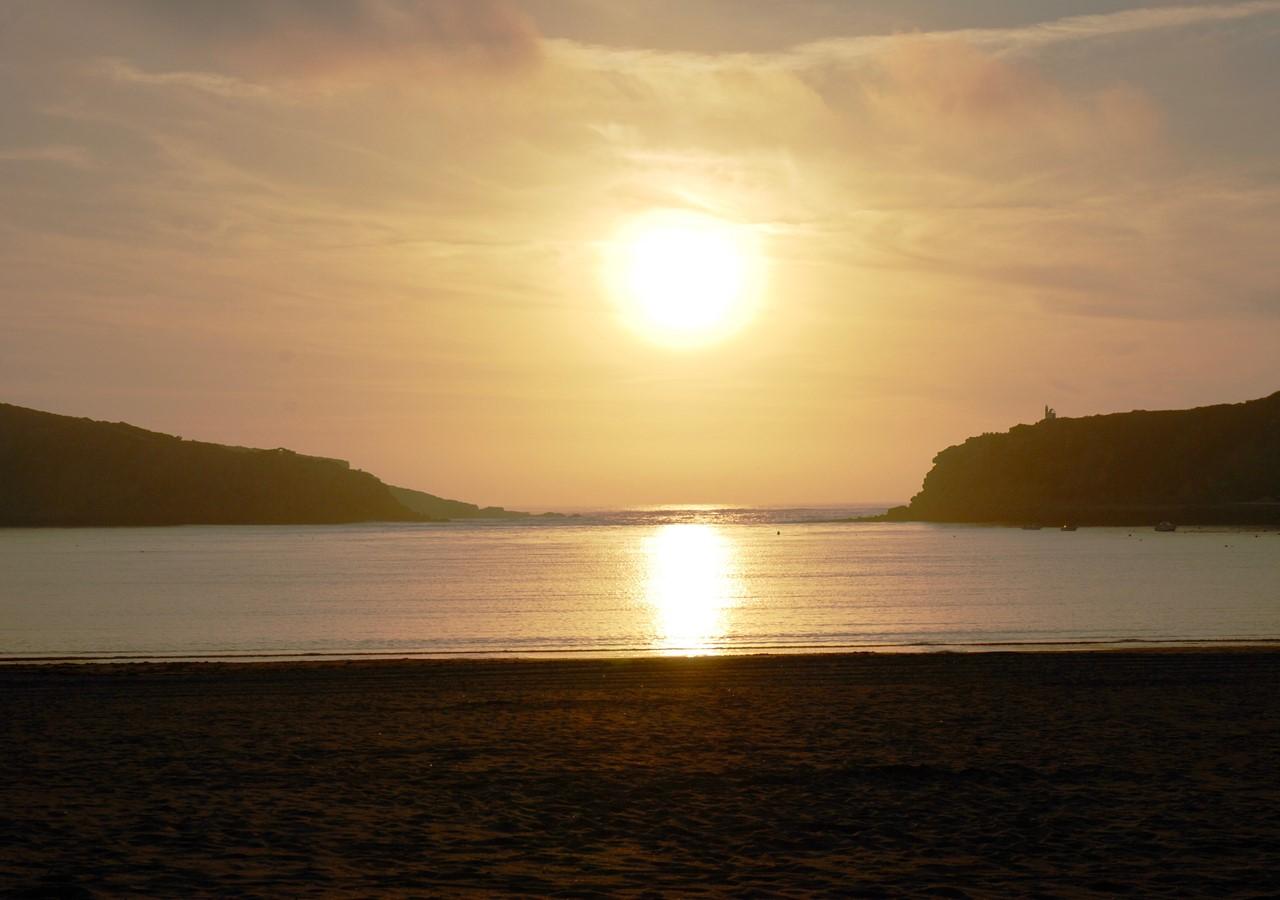 Sunset in São Martinho do Porto