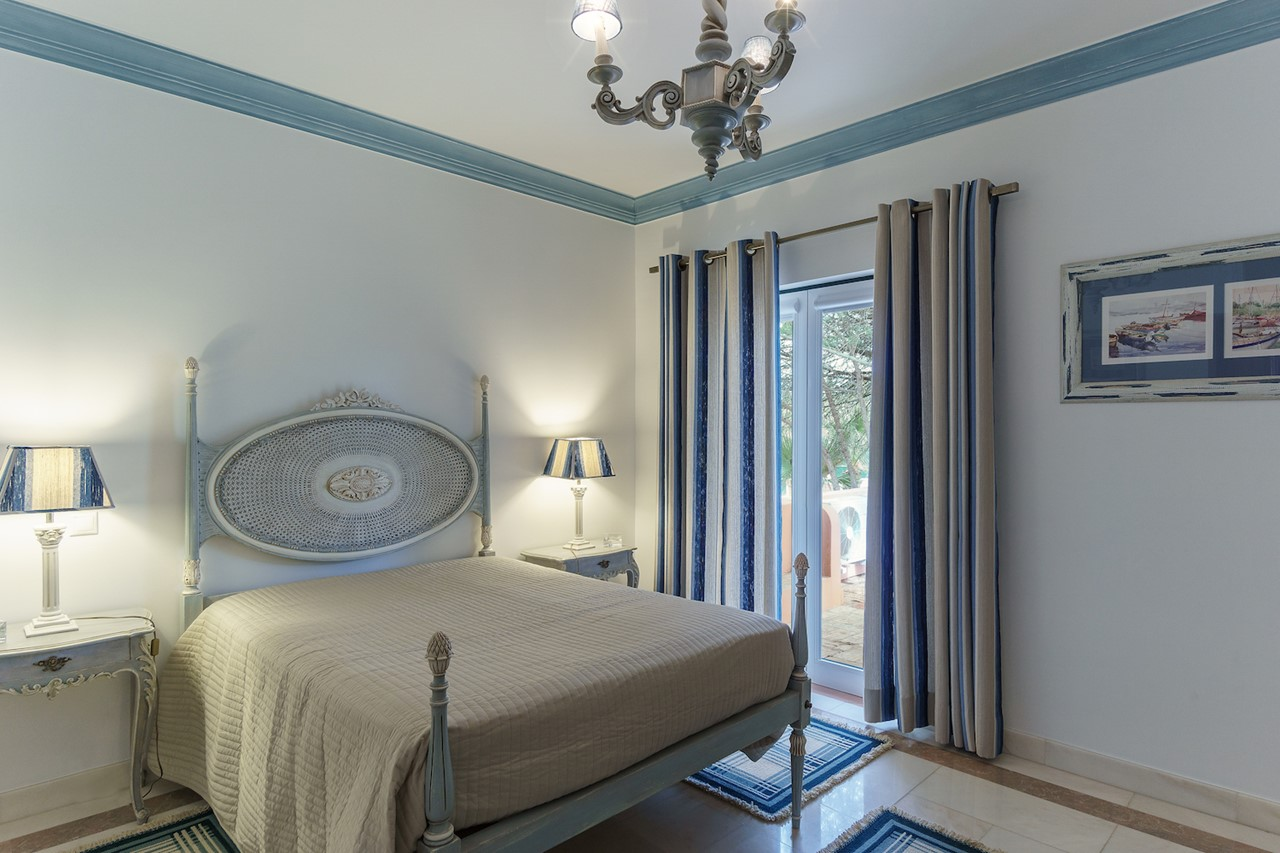 Beautifully decorated double bedroom