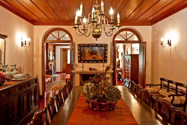 Magnificent dining area