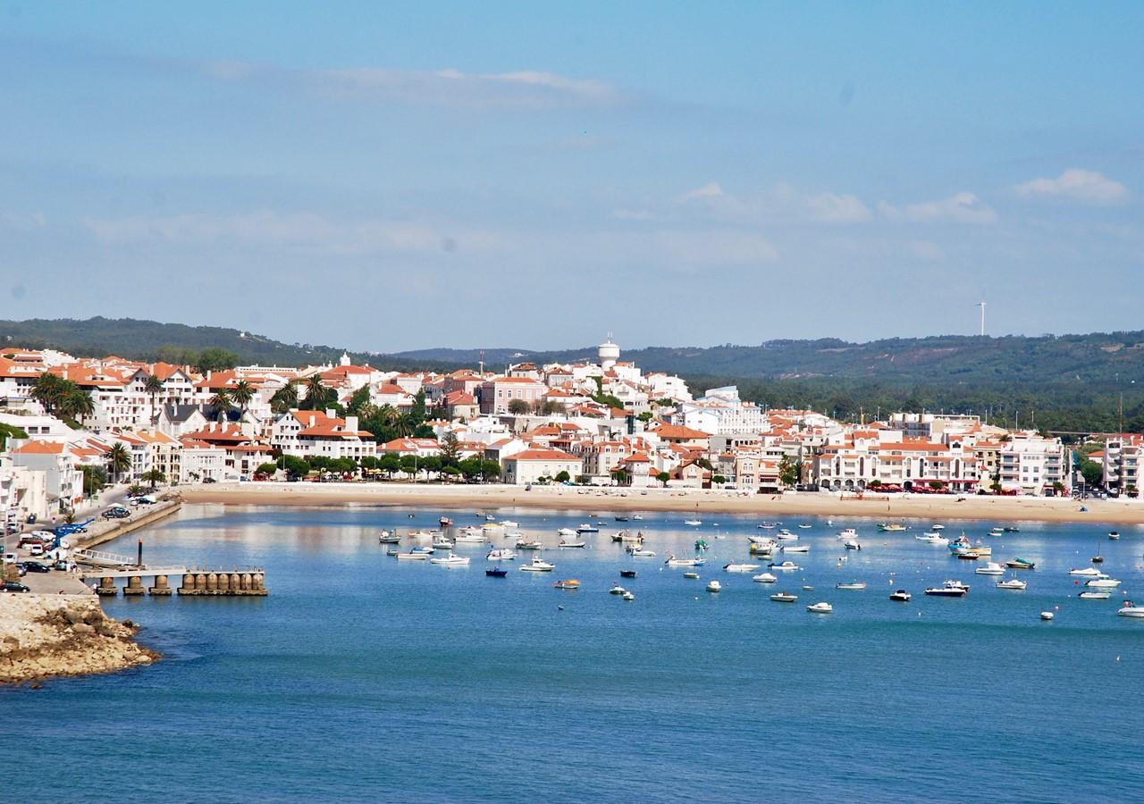 Charming town of São Martinho do Porto