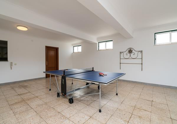 Games Room With Ping Pong Table